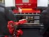 2012. október 25 - AMADA AG 6013 AR robotizált élhajlító gép az EuroBLECH kiállításon