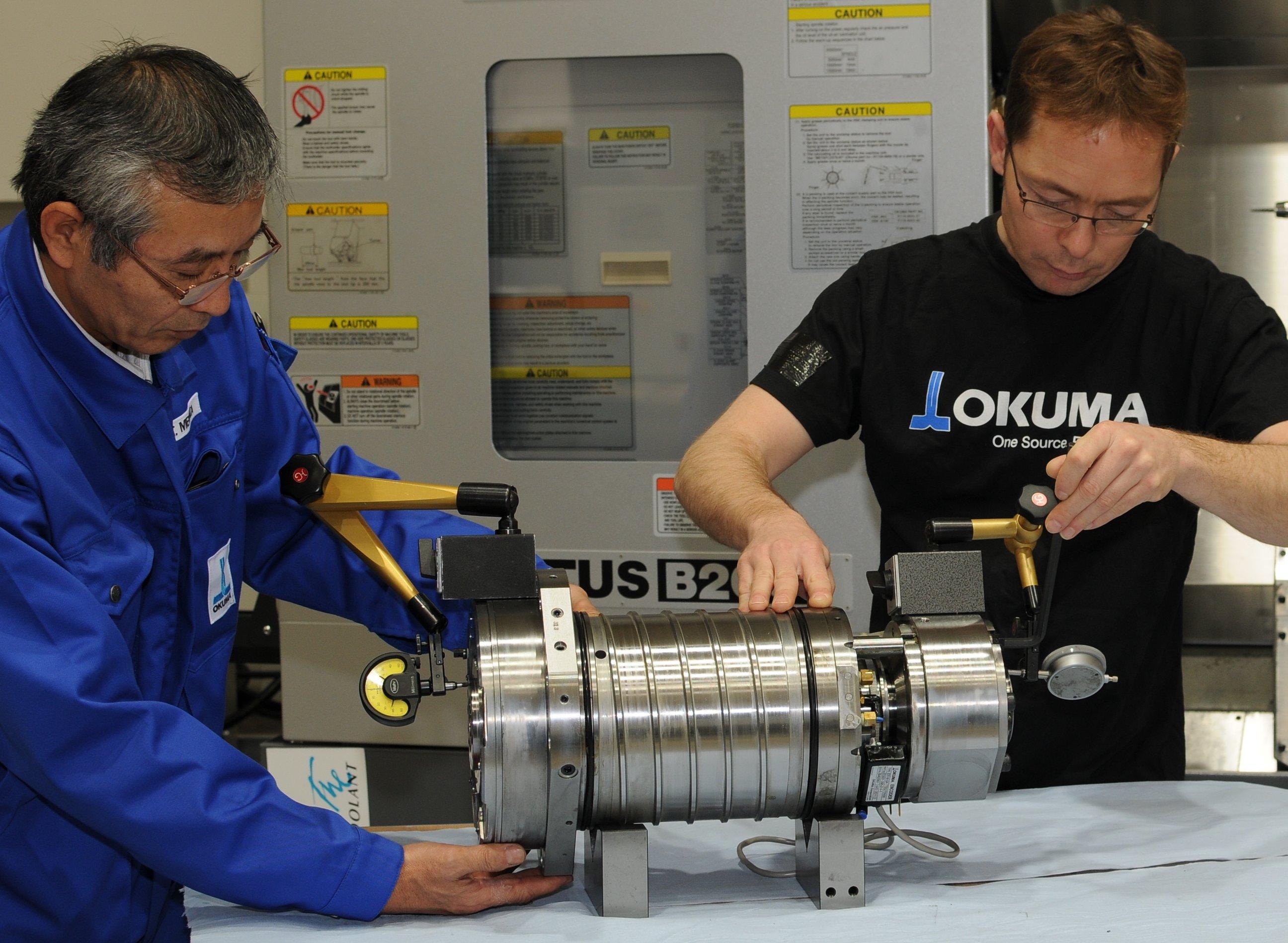 PI Hommel Metav 2012 - Okuma 3 éves orsó garancia 1