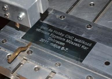 Hobby CNC Debrecen - Tábla