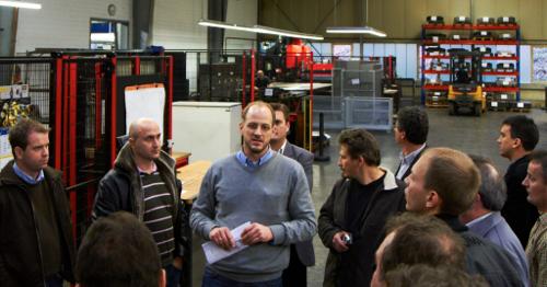 Amada gyárlátogatás a HAZET cégnél