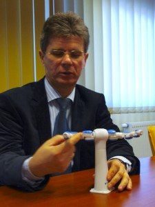 Dr. Farkas Attila, a Flexman Robotics Kft. ügyvezetője