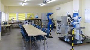 A Flexman Robotics Kft. robottechnikai laboratóriuma