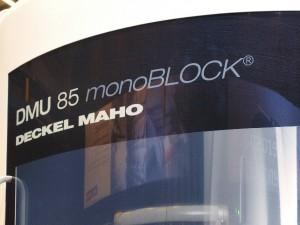 A gyárlátogatás a monoblock összeszerelő csarnokban indult