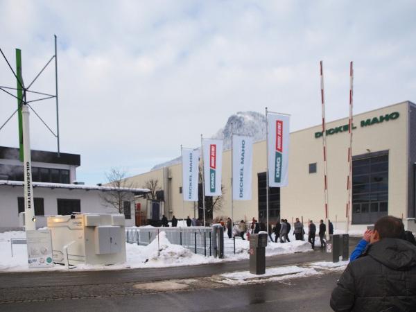 A DMG/Mori Seiki nyílt napokat tartott a pfronteni Deckel Maho gyárban