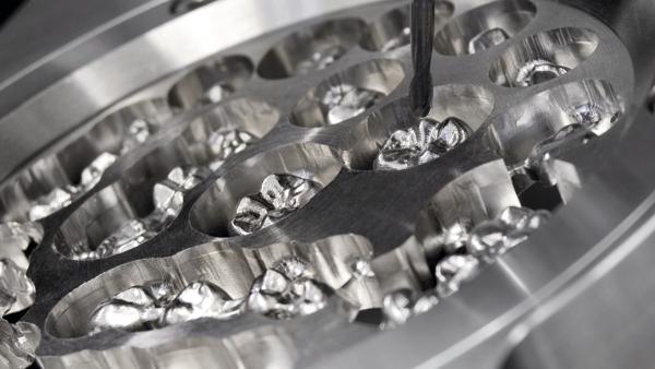 DATRON CoCr protézis gyártás