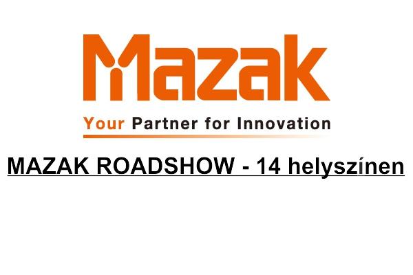 Mazak roadshow logo