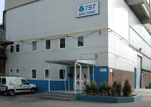 A TST Machine Kft. telephelye