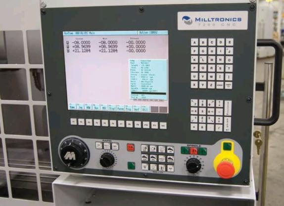 Milltronics - 7200 CNC vezérlő