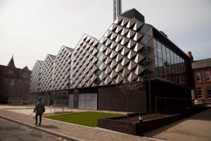 Liverpool University épületének burkolata