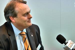 Marcus Burton, a Yamazaki Mazak Europe ügyvezető igazgatója
