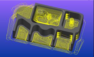 2D-s és 3D-s Dynamic Mill pályák