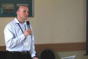 Sebők Róbert a Varinex Digitális Prototípus Fórum 2012 rendezvényén