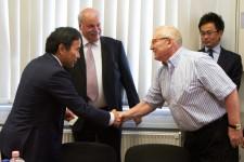 2012 június 07 - Dr. Ing. Masahiko Mori a Gravitás 2000 KFT-nél