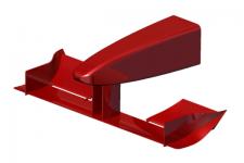3D első légterelő modell