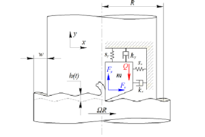Esztergálási folyamat két szabadságfokú mechanikai modellje digitális pozíciószabályozással