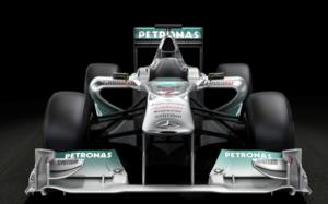 A Mercedes GP 2011-es gépe