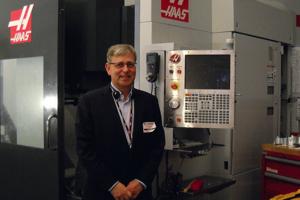 Alain Reynvoet, a Haas Automation Europe ügyvezető igazgatója