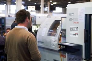 Az NCT Kft vezérlőivel felszerelt szerszámgépek az INDUSTRIAUTOMATION kiállításon