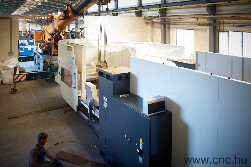 Egy Hartford gép telepítése a DGA Kft-nél