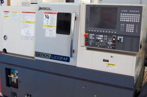 M+E Okuma Genos L200E-M CNC eszterga