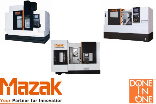 Új Mazak gépek: QTN200M/100, VCS530A, INT j-300, INT i300S