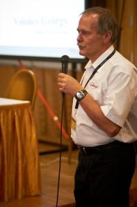 Voloncs György, a Varinex Zrt vezérigazgatója a rendezvény megnyitóján