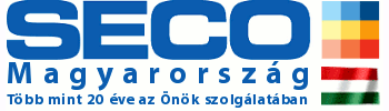 SECO logo magyar