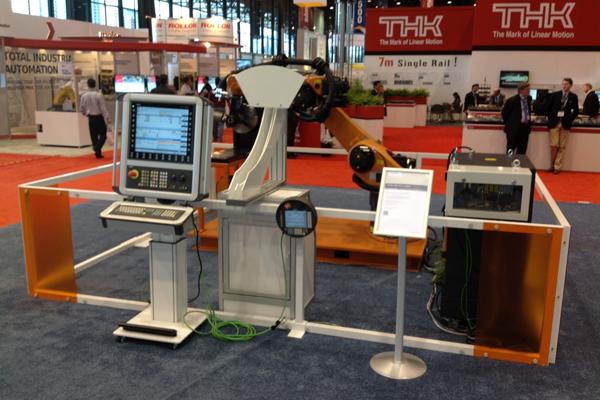 Siemens-Kuka integrált robotvezérlés