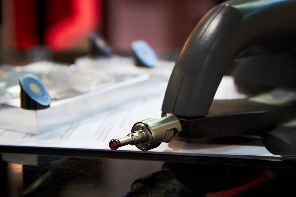 A HandyPROBE 25 um pontossággal képes méréseket végezni
