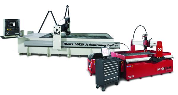 OMAX 60120 és MAXIEM 1515