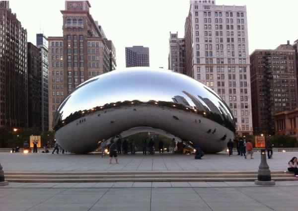Óriásbab Chicagoban