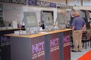 NCT az IMTS kiállításon - Érdeklődők a standnál