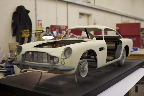 Frissen nyomtatott Aston Martin DB5