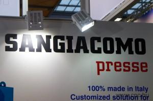 Sangiacomo présgépek az EuroBLECH kiállításon