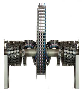 """Ha több vezeték számára kell hely, mint amennyi az egyszerű kivitelnél elfér, a """"Twisterband"""" két oldalt is képes vezetékeket a kábeldobra rávezetni."""