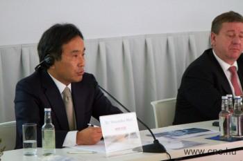 Dr. Masahiko Mori - a MORI SEIKI Co. Ltd. elnöke