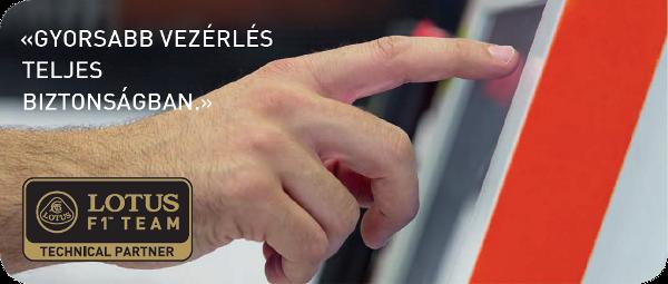 A GF AgieCharmilles a Lotus F1-es csapatának technikai partnere