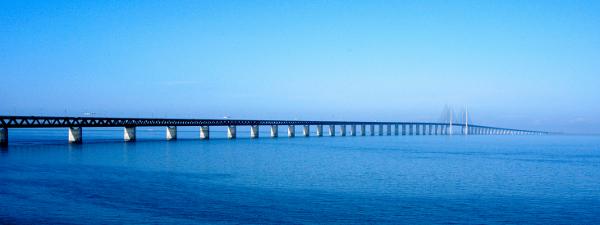 Öresund híd Koppenhága és Malmö között