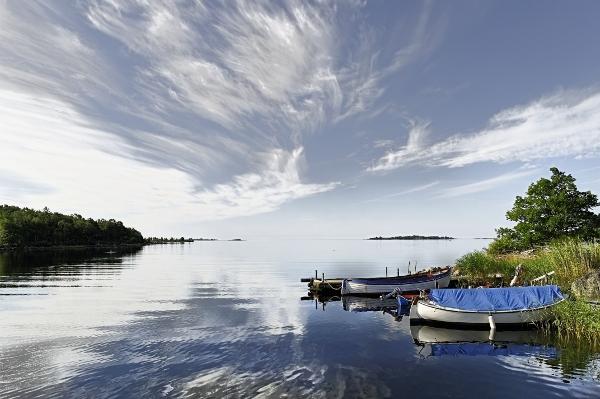 Ronneby - öböl csónakokkal