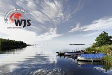 Ronneby öböl csónakokkal