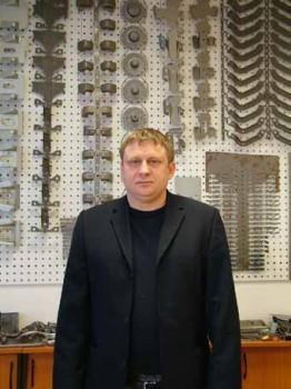 Vizler György, a Vibroteam Kft. ügyvezető igazgatója