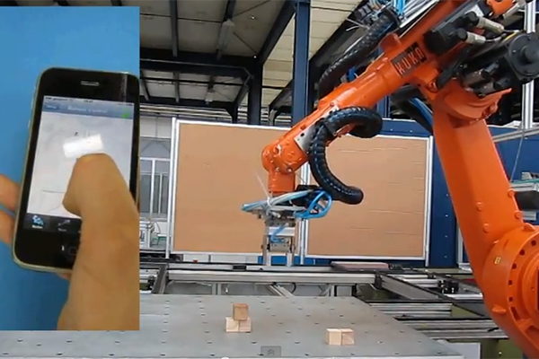Robotvezérlés okostelefonnal