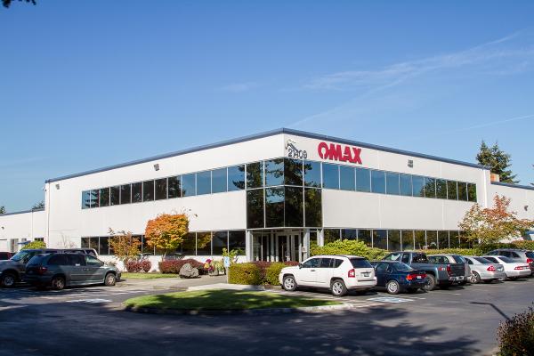 Az OMAX gyárépülete