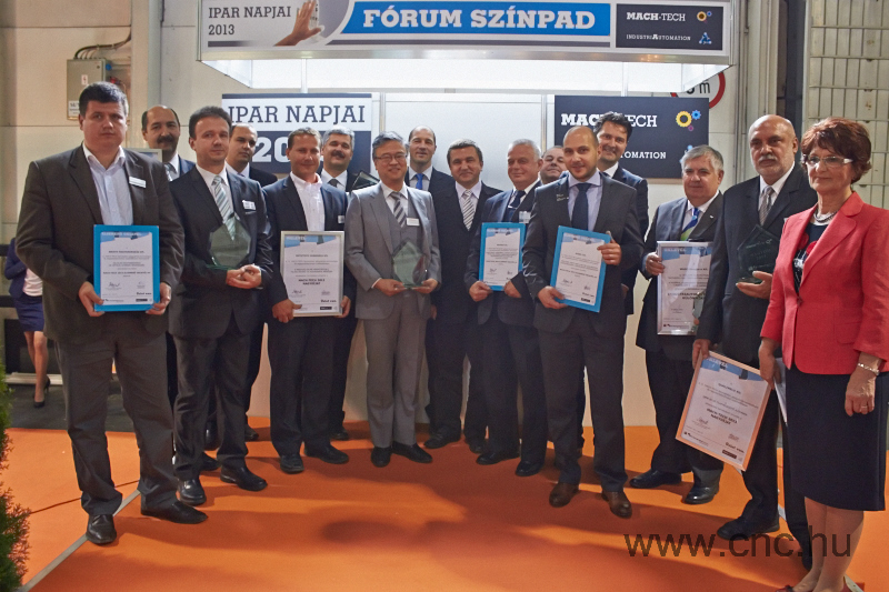 2013-ban is elismerésben részesültek a szakmai zsűri által legjobbnak ítélt termékek.