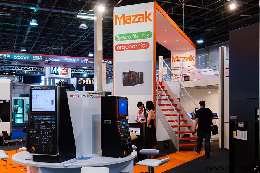 Mazak stand