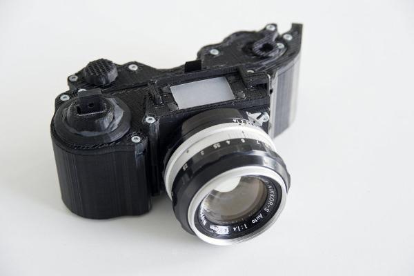 3D OpenReflex fényképező