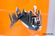 SLS technológiával készült szerszámfél metszete