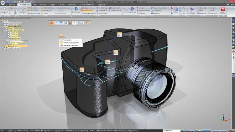 Új, hatékony felületmodellezési eszközök az ST6-ban