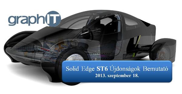 Solid Edge ST6 Újdonságok bemutató