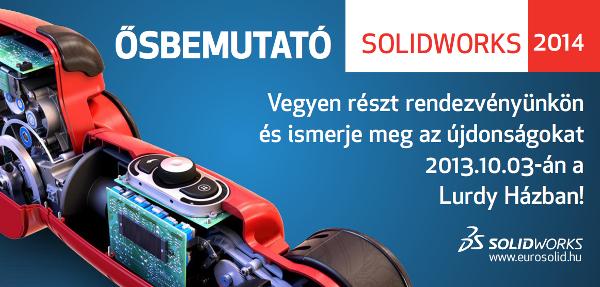 SolidWorks 2014 bemutató